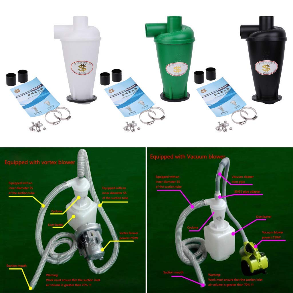 Filtro colector de polvo ciclón para ciclón de bricolaje, ciclón ...