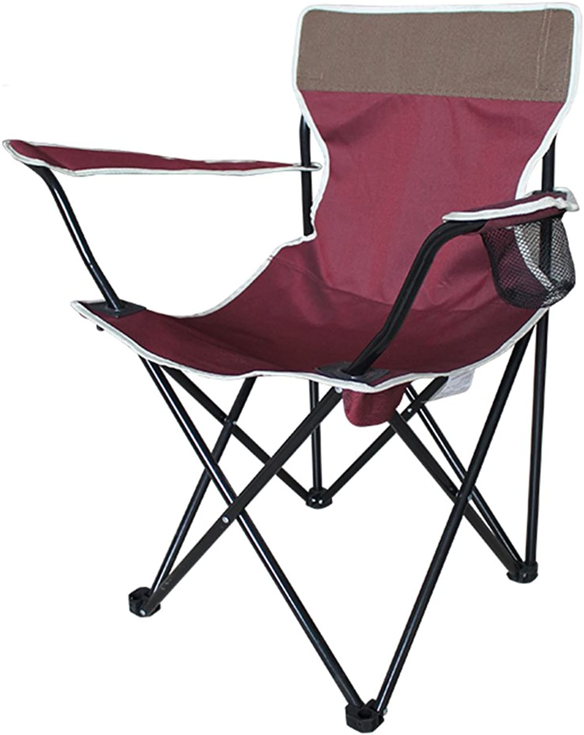XRXY Simple Lightweight Garden Folding Chair Outdoor Portable Multifunction Beach Chair Balcony Leisure Backrest Chair Camping Barbecue Fishing Chair