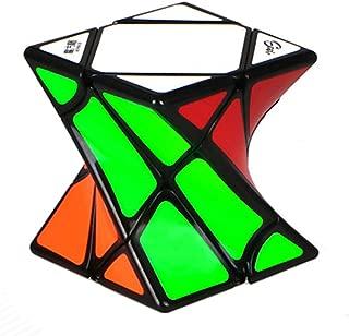 Twisty Skewb Speed Cube Curvy Magic Cube Puzzle Toy Black