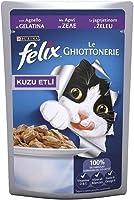 Felix AGAIL Kuzu Etli Yetişkin Kediler için Tam Yaş Kedi Maması 100gr
