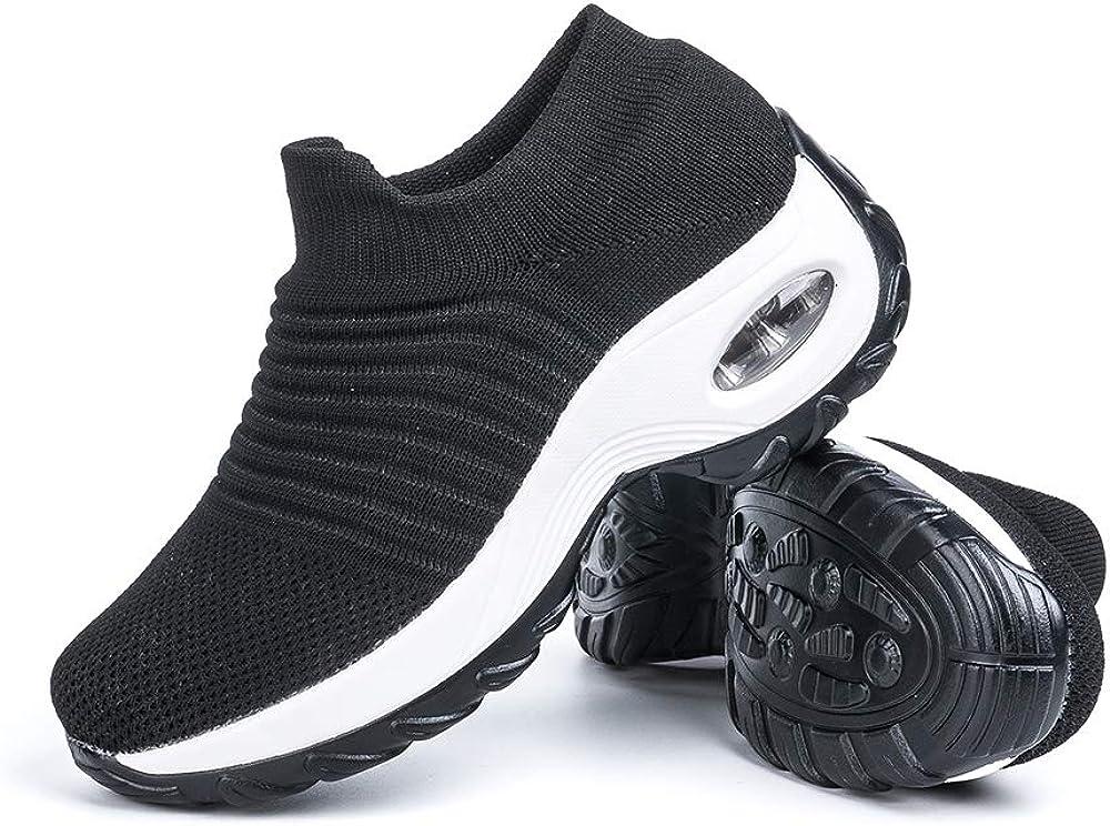 Hitmars,scarpe da ginnastica per donna, sneakers LLS3391BK35