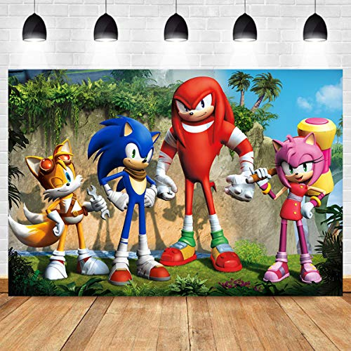 Sonic Hedgehog Themed Photo Background B Buy Online In United Arab Emirates At Desertcart