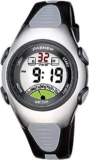 PASNEW Sweet Children Boys Girls Kids Watches Digital Waterproof Luminous Watches 219 Black
