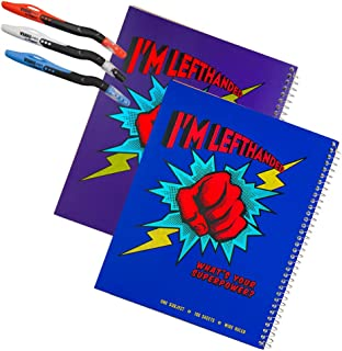 مجموعتان من أجهزة الكمبيوتر المحمولة باليد اليسرى المعدنية فائقة القوة بالإضافة إلى 3 أقلام فيزيو، ألوان متنوعة