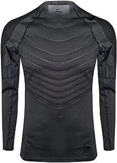 be86f4352f57 Nike Mens Pro Hyperwarm Long Sleeve Training Shirt