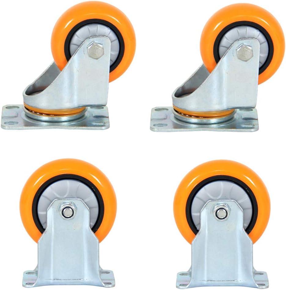 Zlovne 4 Swivel Castor Wheel Genuine Furniture Pol New York Mall Caster 4inch Orange 3