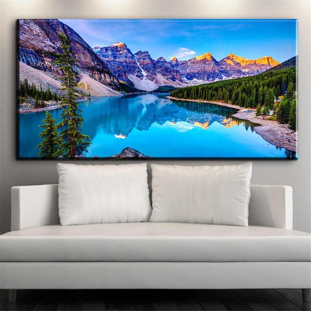 Diamond Painting Mountain Lake New Shipping Max 40% OFF Free Large Full D Kit