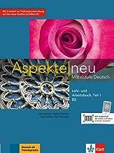 Aspekte neu b2, libro del alumno y libro de ejercicios, parte 1 + cd: Lehr- und Arbeitsbuch B2 Teil 1 mit CD