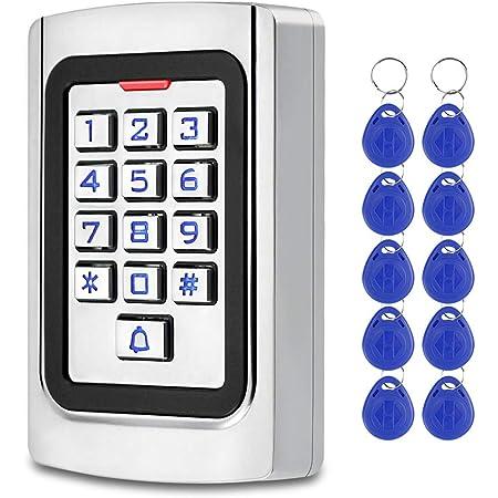 FST Teclado Control Acceso IP68 Teclado RFID a Prueba de agua ...