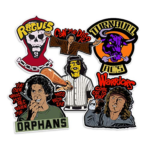 NEO Tactical Gear Warriors Baseball Furies Rogues Cyrus Turnbull AC's Vinly Decal Sticker Pack