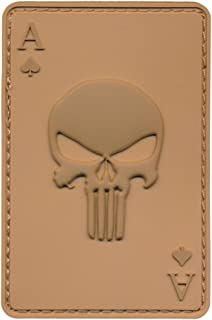 Patch Squad Men's Ace of Spade Death Dead Mans Hand Punisher Morale Patch