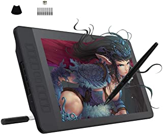 GAOMON PD1560 15.6 Inches 8192 Levels Pen Display with Arm Stand 1920 x 1080 HD IPS Screen Drawing Tablet with 10 Shortcut...
