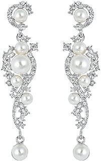 Best diamante pearl drop earrings Reviews
