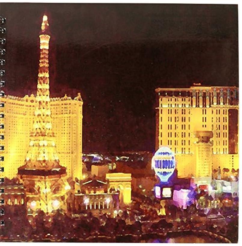 3dRose db_4396_2 Las Vegas Memory Book, 12 by 12-Inch