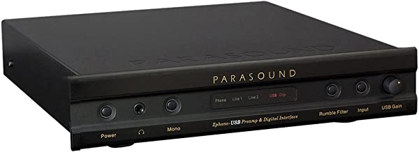 Parasound Zphono MM/MC Phono Preamplifier with USB