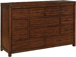 Artesia 10-Drawer Dresser Dark Cocoa