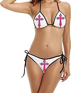 In God We Trust Women Padded Bikini Swimsuit