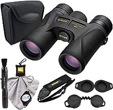 Nikon 16001 10x30 Prostaff 7S Binoculars Bundle with a Nikon Lens Pen, Cleaning Cloth and a Lumintrail Keychain Light