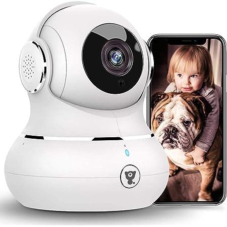 Littlelf Ip Kamera 1080p Full Hd Drahtlose Fernüberwachung 350 Panorama Und 105 Neigung Durch Anwendungen Gesteuert 3d Panoramakamera Fernüberwachung Für Babys Und Tiere Weiß Baumarkt