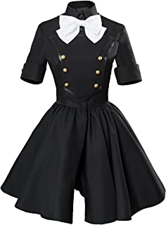 COSTHAT Fate/Apocrypha Astolfo Epilogue Event Black Cosplay Dress FGO Astolfo Black Suit