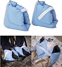 Foot Pillows, Heel Cushions Protectors,Effective Pressure Sore and Heel Ulcer Relief, Great for Swollen Feet Soreness and Healing,One Pair