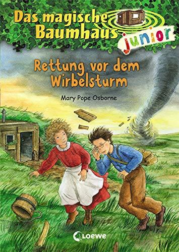 Das magische Baumhaus junior 21 - Rettung vor dem Wirbelsturm: Kinderbuch zum Vorlesen und ersten Selberlesen - Mit farbigen Illustrationen - Für Mädchen und Jungen ab 6 Jahre
