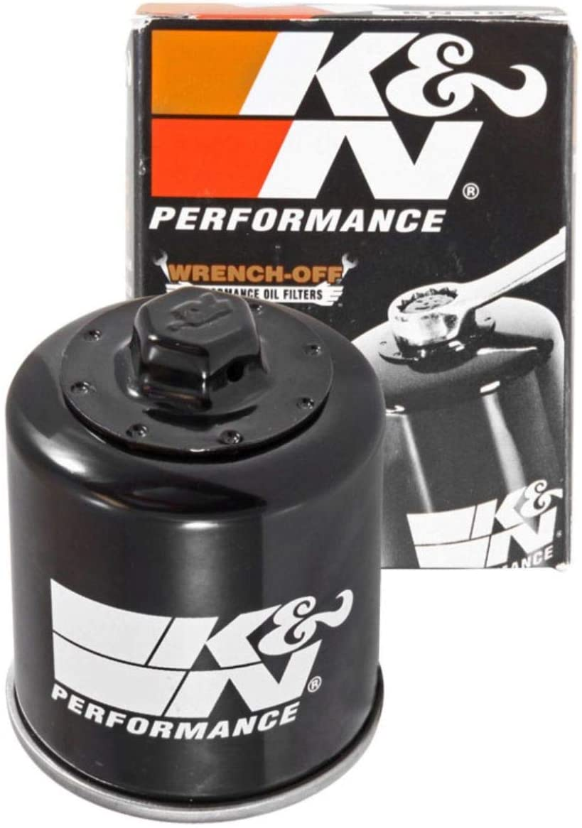 K&N Motorcycle Oil Filter: High Performance, Premium, Designed to be used with Synthetic or Conventional Oils: Fits Select Piaggio, Aprilia, Derbi, Peugeot, Malaguti, Gilera Vehicles, KN-183