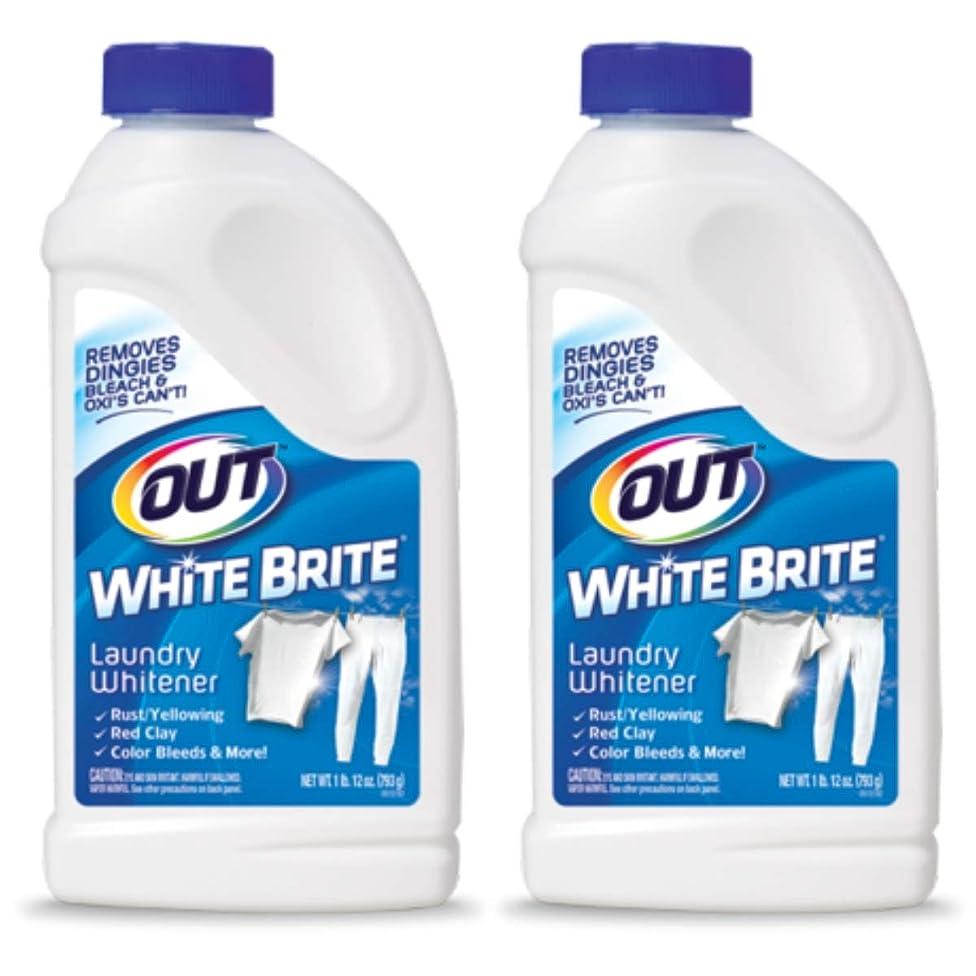 White Brite Laundry Whitener 28 oz (2 Pack)
