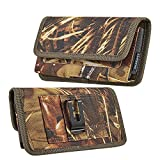 Woodland Horizontal Cell Phone Holster with Belt Clip for
