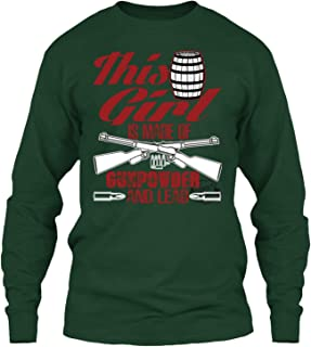 This Girl T Shirt, Made of Gunpowder and Lead T Shirt