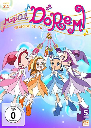 Magical Doremi: Staffel 2.1 (Episode 52-76) [5 Disc Set]
