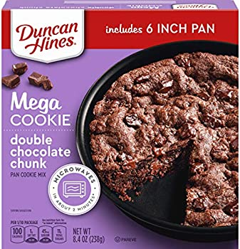 Duncan Hines Mega Cookie Double Chocolate Chunk Pan Cookie Mix