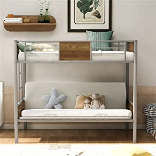 Amazon Com Convertible Sofa Bunk Bed