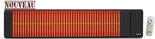 UFO RL20Red Line 2000W calefacción por infrarrojos, color negro