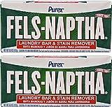Fels Naptha Laundry Soap Bar - 5.0 oz - 2 pk