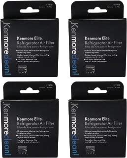 4 Pack Kenmore Elite 469918 Refrigerator Air Filter (4)