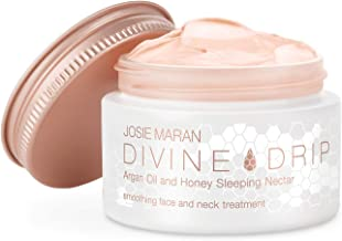 Josie Maran Divine Drip Argan Oil and Honey Sleeping Nectar - Rejuvenates Depleted Skin Making it Beautiful and Bright (45g/1.6oz)