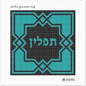 pepita Tefillin Geometric Needlepoint Kit