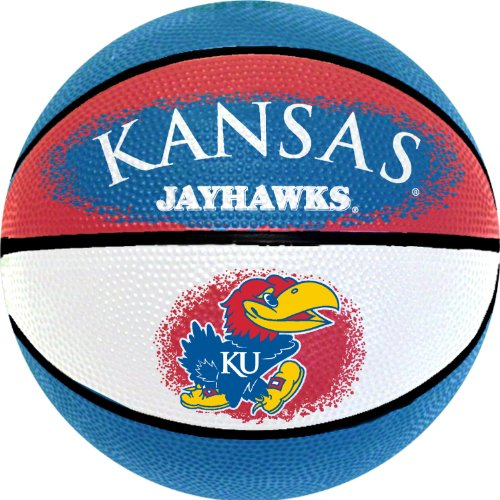 Best Review Of NCAA Kansas Jayhawks Mini Basketball, 7-Inches