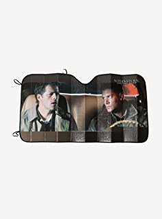 Hot Topic Supernatural Castiel Dean Winchester Baby Sunshade