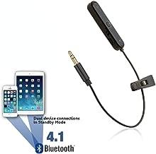 REYTID Bluetooth Adapter for Beats Solo, Solo2, Studio, Studio 2.0, MIXr & Pro Detox Headphones - Wireless Converter Receiver for Apple Earphones On-Ear Over-Ear