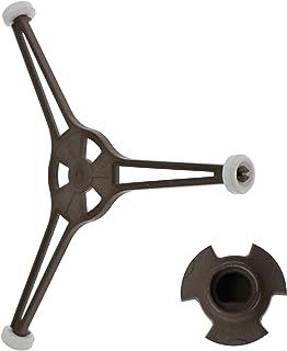 TRUUA Horno microondas con un Brazo Universal Triple Adapta a Todas Las microondas con trípodes tamaño Plato sostenedor del Soporte de Apoyo