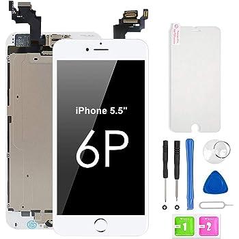 bokman /Écran Tactile LCD pour iPhone 6s Plus Noir Vitre Tactile avec Kit de R/éparation
