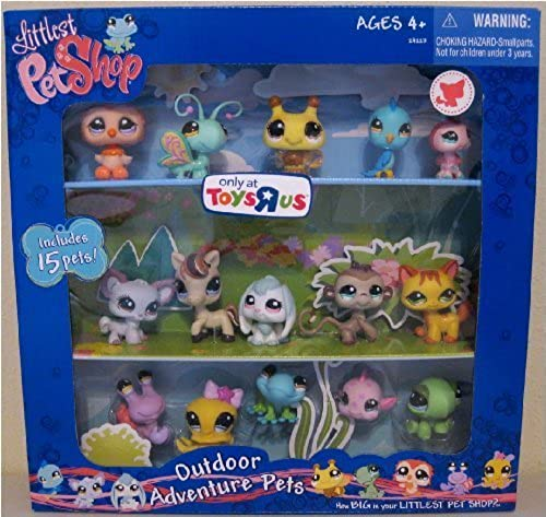 Littlest Pet Shop Exclusive Outdoor Adventure Collectors Set  1 of 15 Pets Includes Bumblebee, Ladybug, Fish, Pony More  by Hasbro