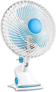 YNES Sujetador de Abanico, Que cuelga de Dos velocidades del Ventilador, Ventilador oscilante cómodo, Conveniente, Estudiante de la Oficina del Ordenador Breeze Mini Ventilador de pie