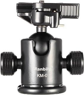 Andoer® manbily km 0Pro Camera Kugelkopf Stativ Kopf Panoramakopf Schiebetür aus Aluminiumlegierung Kasten Max 15kg Ladekapazität
