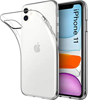 DiMiK Case for iPhone 11, Clear Ultra Thin Ultra Slim Fit Soft Silicone Crystal Transparent Bumper TPU Case Compatible wit...