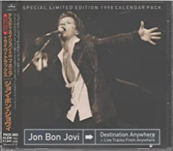 Jon Bon Jovi: Destination Anywhere + Live Tracks From Anywhere (Special Limited Edition 1998 Calendar Pack) (Japanese Import)