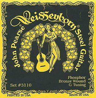 John Pearse Strings® 3110 For Weissenborn® Steel Guitar - Phosphor Bronze - G-Tuning