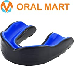 Oral Mart Sports Youth Mouth Guard for Kids (10 Best Colors & USA Flag) - Youth Mouthguard (BPA Free) Karate, Flag Football, Martial Arts, Rugby, Boxing, MMA, Hockey (/w Vented Case)